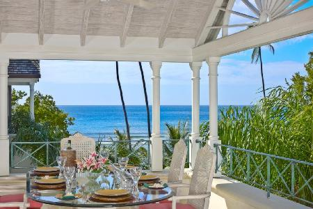Schooner Bay 306 - Superb beachfront penthouse  in a secure gated community near Speightstown - Image 1 - Speightstown - rentals