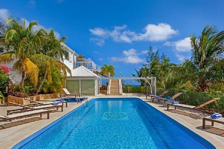 Luxurious Captain Cook Villa, king suites with private access, pool and spa - Image 1 - Pointe Milou - rentals