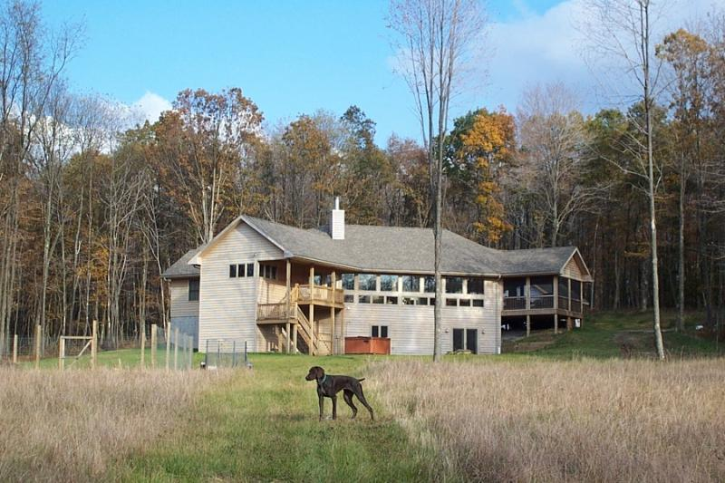Wild Yough exterior - 350 Acres of privacy, Riverfront, Deep Creek Lake - Oakland - rentals