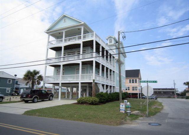 1519 Carolina Beach Ave North - Cool Breeze -  Getaway and relax at this spacious ocean view penthouse duplex - Carolina Beach - rentals
