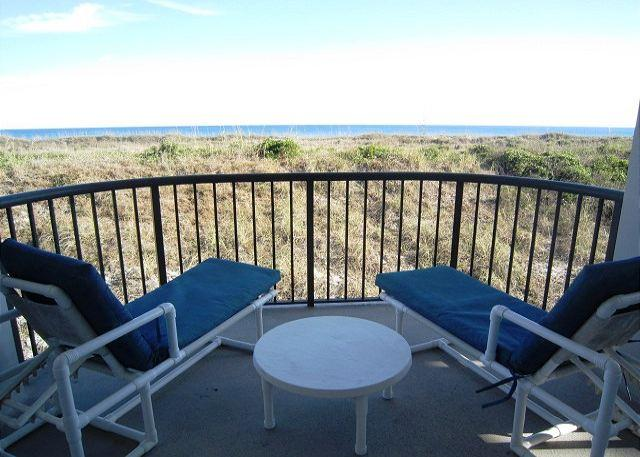DR 1104 - What a view from the Balcony of this remodeled Duneridge Condo - Image 1 - Wrightsville Beach - rentals