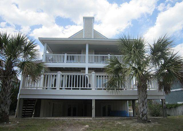 Pappa's Beach House - Pappas Beach House -  Spacious  4 Bedroom home with ocean and sound views. - Wrightsville Beach - rentals