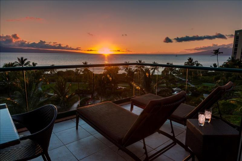 Maui Westside Properties: Konea 501 - Best 2 Bedroom Frontline with BBQ! - Image 1 - Ka'anapali - rentals