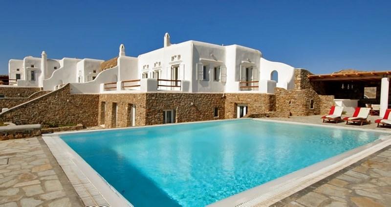 Elektra - Stylish villa ovelooking Super Paradise - Image 1 - Mykonos Town - rentals