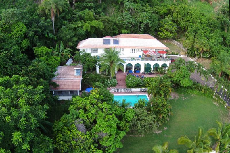 Aerial view of Moon Hill - Moon Hill Jamaica - Welcome to the Master Suite - Kingston - rentals