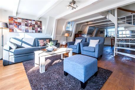 Jordaan Noordermarkt Apartment F - Image 1 - Amsterdam - rentals