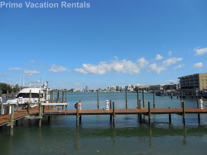 On-site dock - Dockside Condo 401 | BEACH views and BAY views!! - Clearwater - rentals