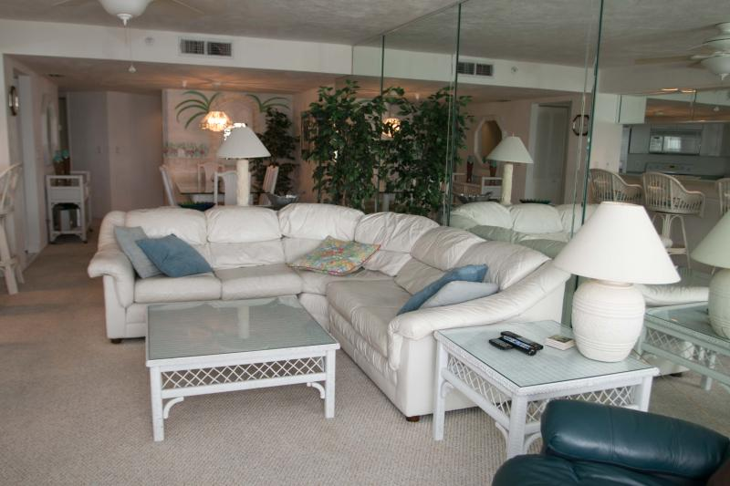 Living Room - April/May $pecials -Condo Sherwin#1007-Ocean View - Daytona Beach - rentals