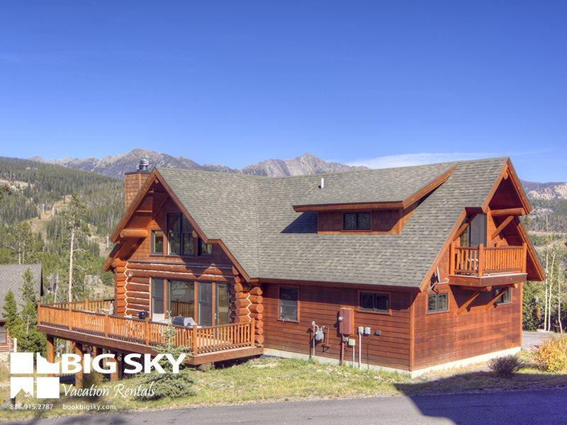 Big Sky Resort | Powder Ridge Cabin 13 Rosebud Loop - Image 1 - Big Sky - rentals