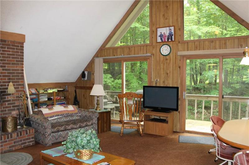Located at Base of Powderhorn Mtn in the Western Upper Peninsula, A Trailside Home with Cozy Décor & Large Living Room - Image 1 - Bessemer - rentals