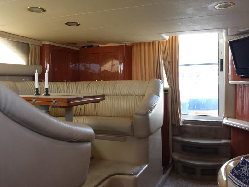 Salon looking at entrance - 3 BR (4bed) 2 BA Luxury Yacht-Sunset Cruise avail - Key West - rentals
