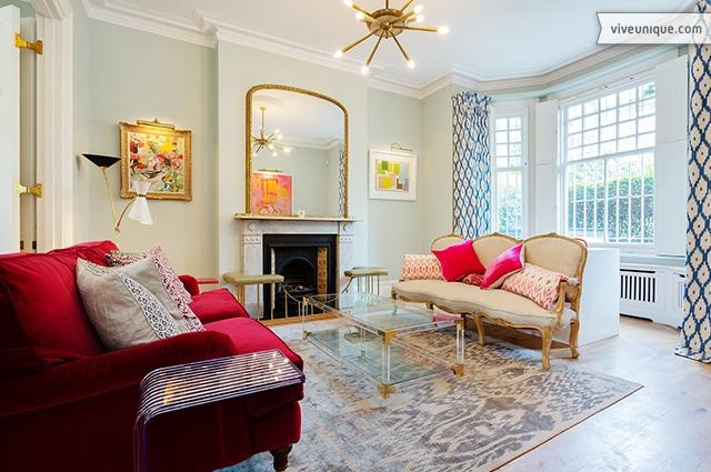 Magnificent 6 bedroom townhouse only one minute's walk from Battersea Park - Image 1 - London - rentals