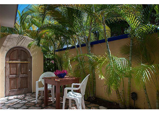 Private courtyard - Modern, comfortable well appointed apartment with private courtyard. - Puerto Morelos - rentals