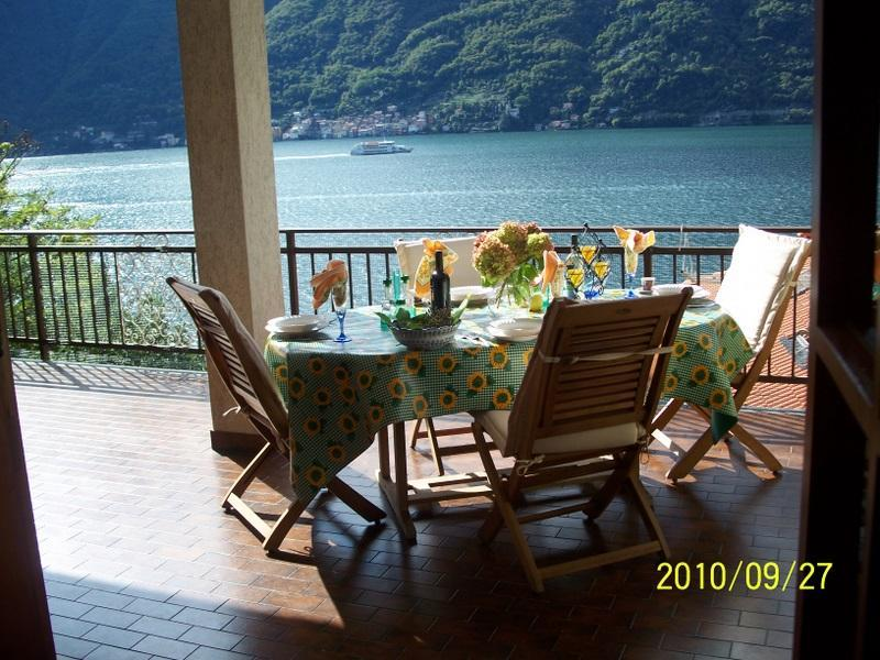 Villa has 3 Balcony's 5 bedrooms 3.5 bathrooms parking free WIFI ,towels ,linens and a dock - Lake ComoVilla Private,Lakefront,Dock,Parking!!! - Nesso - rentals