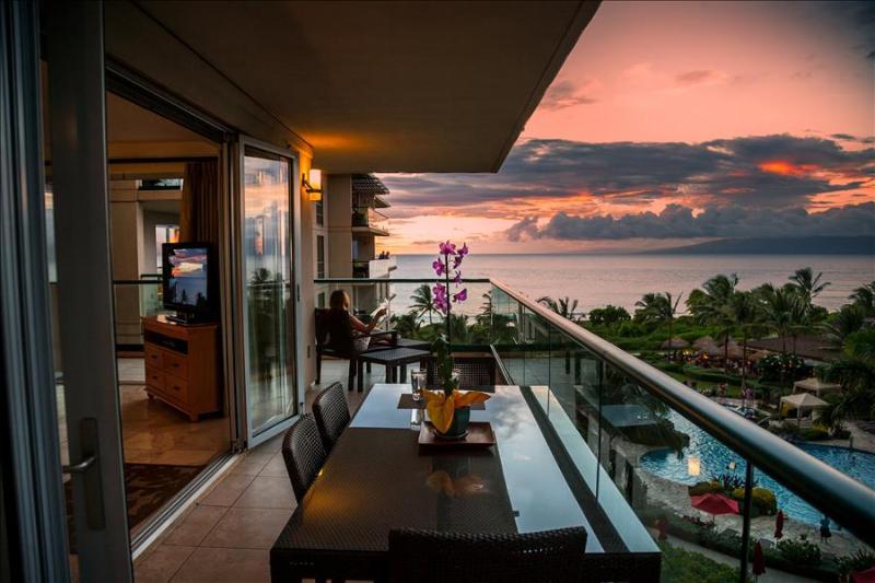 Maui Westside Properties: Hokulani 509 - Ocean Views From Inside the condo! - Image 1 - Ka'anapali - rentals