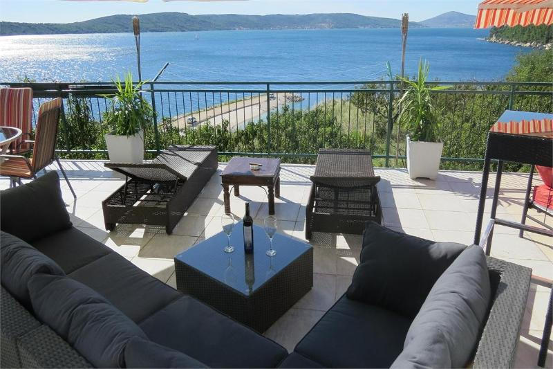 Apartment Blue Lagoon + Big  Balcony Sea Views - Image 1 - Split - rentals