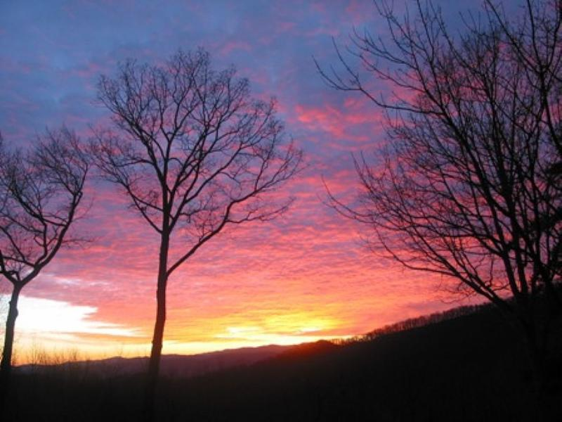 Glorious Sunset - Laurel Mountain Lodge - Asheville - rentals