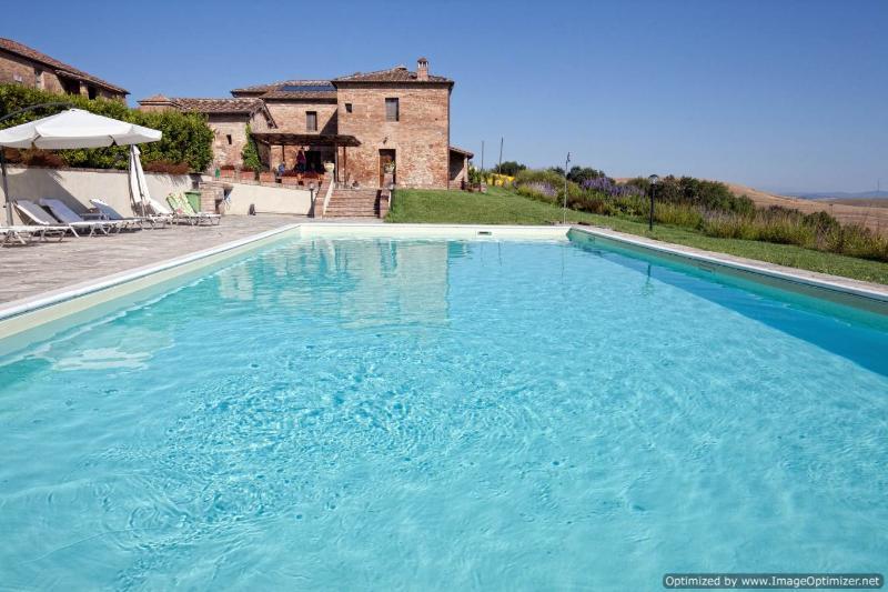 Il Toscona Tuscan villa rental monteroni d'arbia tuscany italy - Image 1 - Buonconvento - rentals