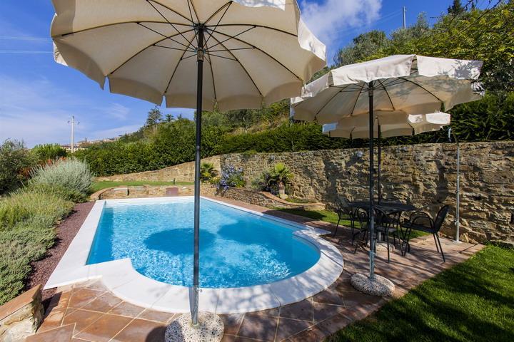 Cristina alle Contesse exclusive walk to Town villa - Image 1 - Cortona - rentals