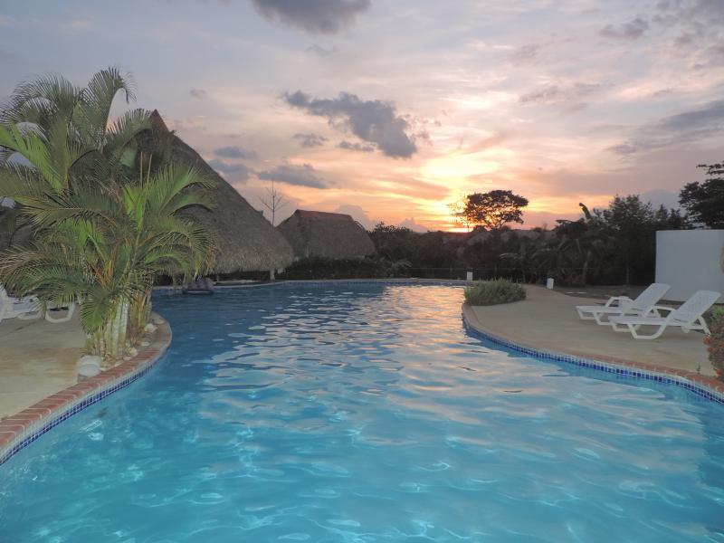 The Pool!! - Tropical Home w/ ocean view & short walk to beach! - San Carlos - rentals