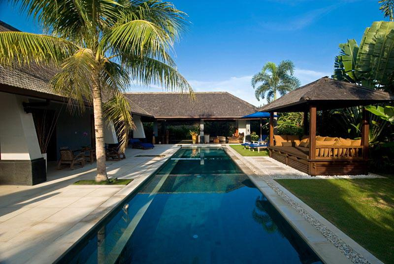 Villa and Pool view - Moyo-Rinci, 3 Bed/3 Bath villas,near Seminyak - Canggu - rentals