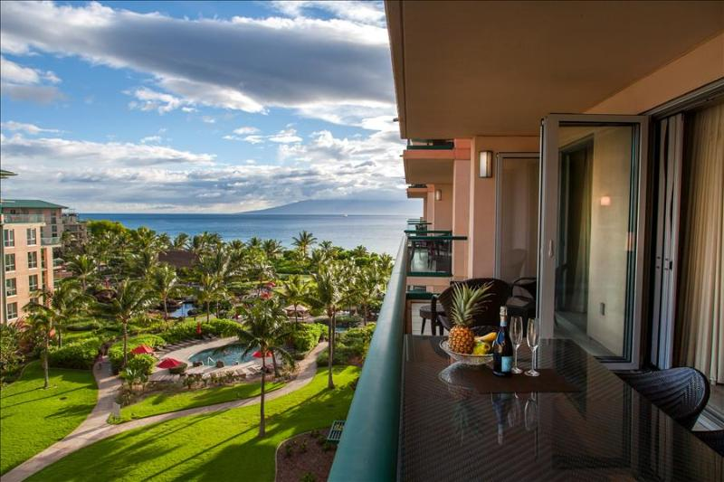 Maui Westside Properties: Konea 643 - Two Bedroom Ocean View Interior Courtyard! - Image 1 - Ka'anapali - rentals