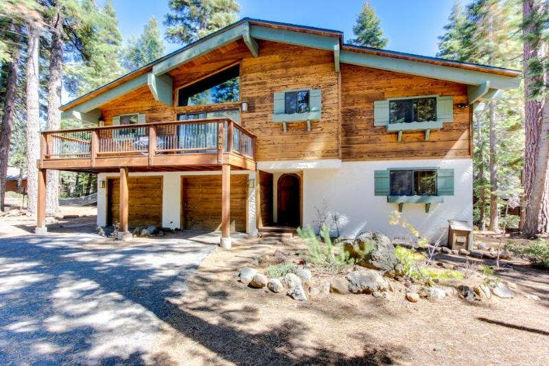 Bavarian Alpine home with hot tub and beautiful lake views! - Image 1 - Tahoe City - rentals