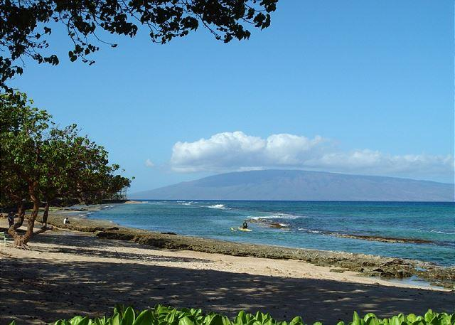 View from lanai and condo. - Hale Kai #102 - Your Home by the Sea in West Maui - Lahaina - rentals