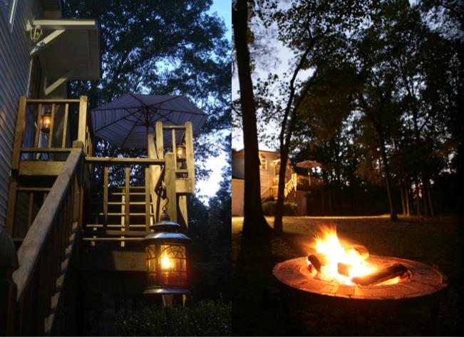 We'll make sure to add some fire to your stay. - Peaceful Treetop Cottage - Park Hills - rentals