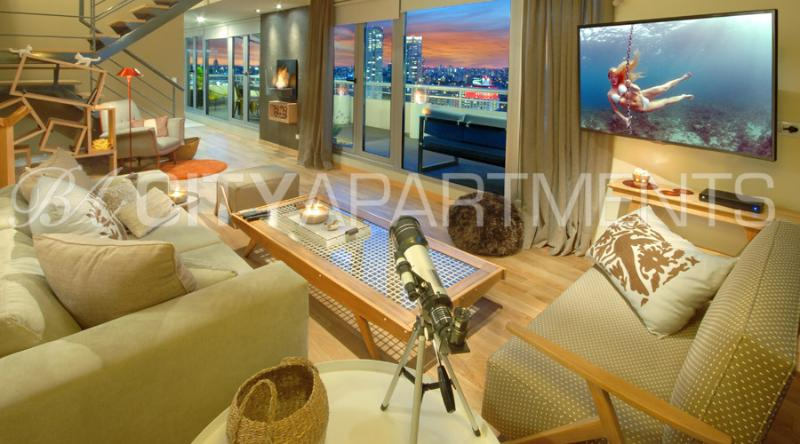23rd floor Palermo SOHO (QP6) JAW DROPPING views! - Image 1 - Buenos Aires - rentals