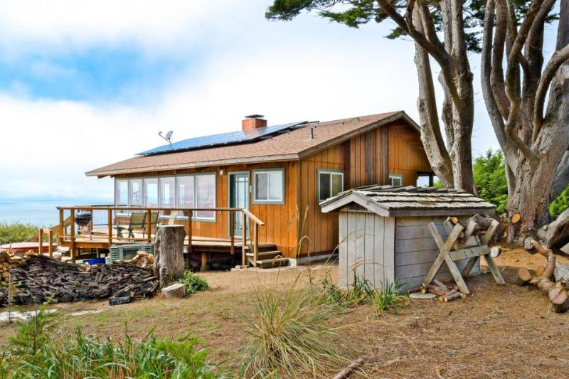 Gorgeous, dog-friendly, oceanfront home w/private hot tub & spectacular views - Image 1 - Albion - rentals
