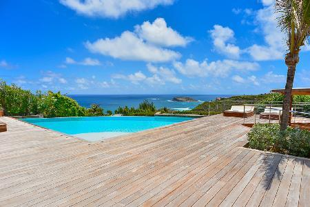 Private Villa Valentina with an astounding outdoor living and staff - Image 1 - Pointe Milou - rentals