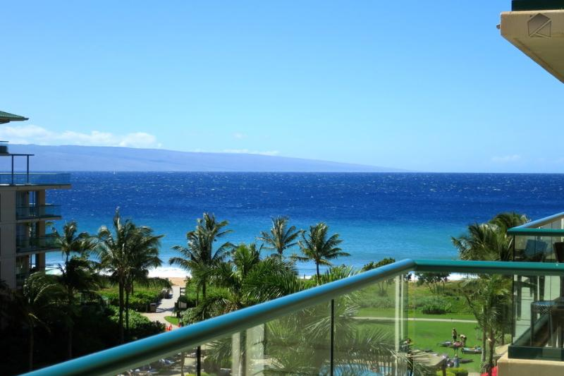 Incredible ocean views from the lanai - perfect for pairing with a morning coffee or nightcap! - Check Out This View at Honua Kai! - The Yellowfin at 545 Hokulani - Ka'anapali - rentals