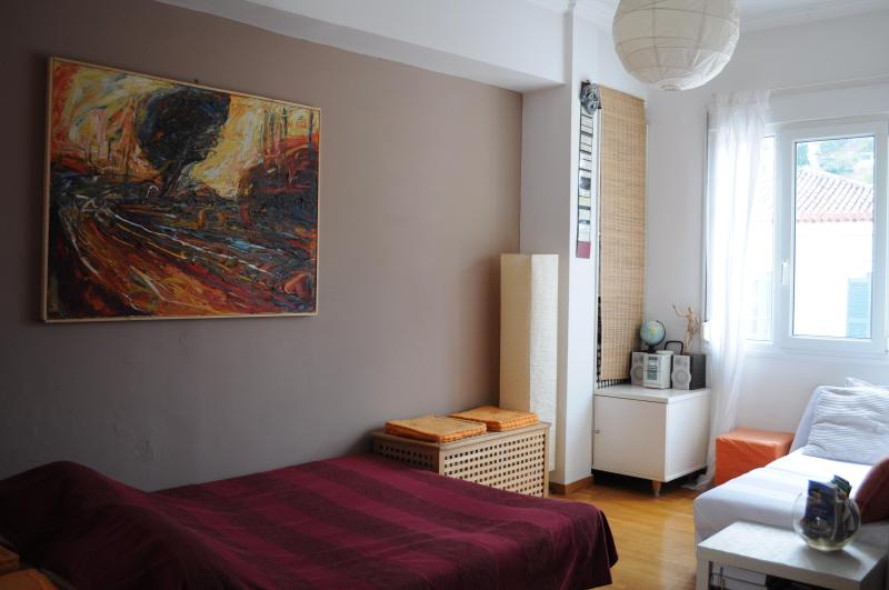 Cozy downtown Studio with superb view on Acropolis - Image 1 - Athens - rentals