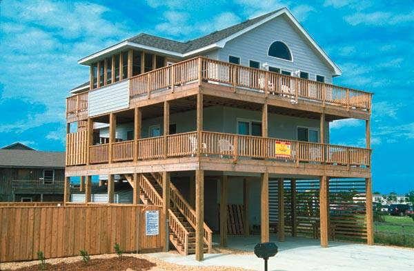 Decked Out - Image 1 - Rodanthe - rentals