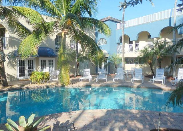 Blue Ocean 1 Beachfront, Pool View 2 Bedroom 2 Bath for 7 guests Heated Pool - Image 1 - Pompano Beach - rentals