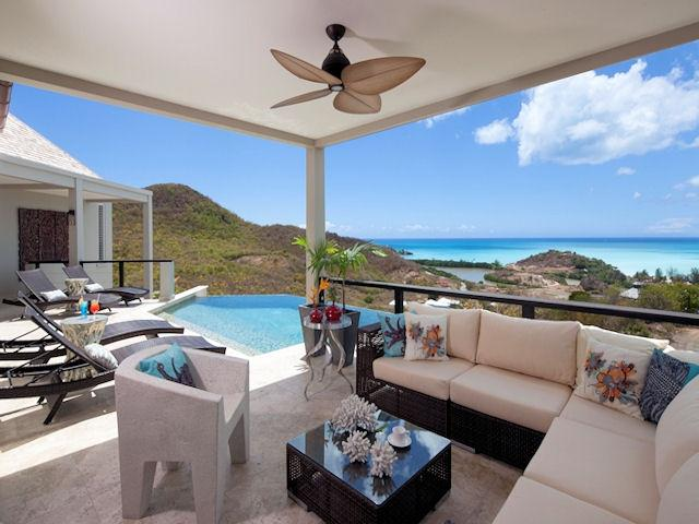 Sunset Villa. Sugar Ridge,Antigua - Villa Sunset, Sugar Ridge - Antigua and Barbuda - rentals