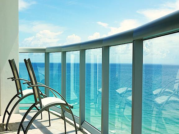 Breathtaking Views - 1BR Ocean Front Beach Furnished at Marenas Resort - Sunny Isles Beach - rentals