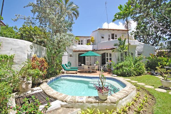 Merlin Bay - Secret Garden at Merlin Bay, Barbados - Beachfront, Pool, Landscaped Gardens - Image 1 - Merlin Bay - rentals