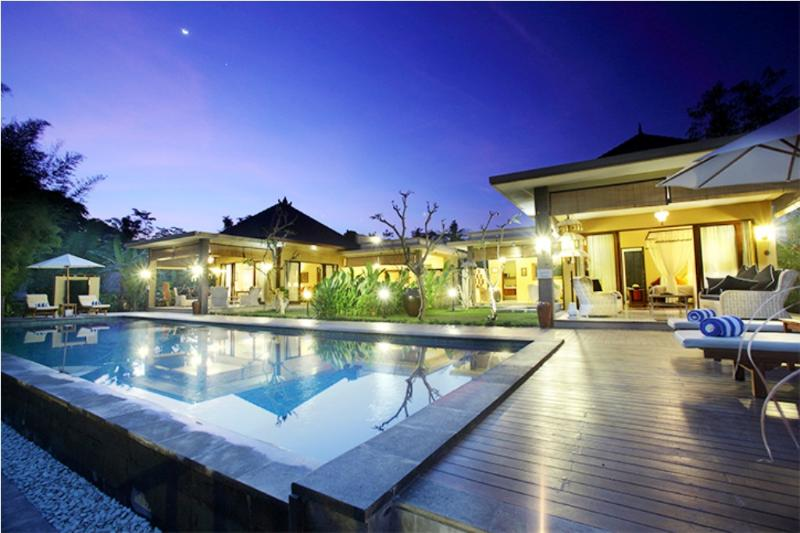 Villa and Pool view - Nirvana Suite, Luxury 2 Bedroom Villa, Ubud - Ubud - rentals