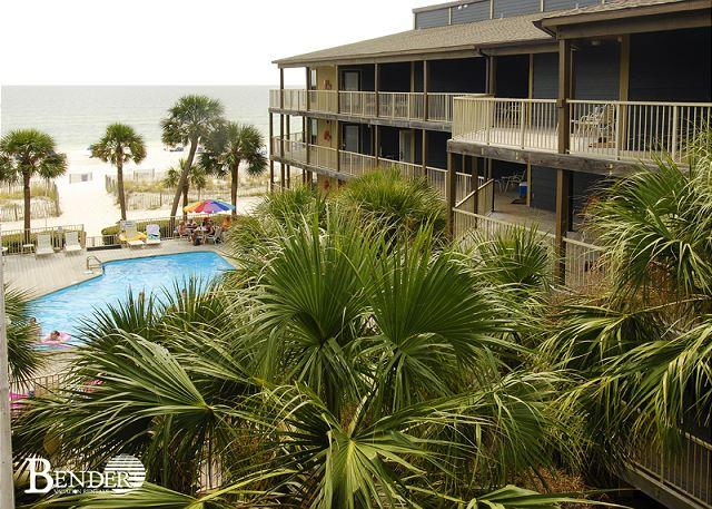 Balcony View - Beachside Condo with Gulf Views~Bender Vacation Rentals - Gulf Shores - rentals