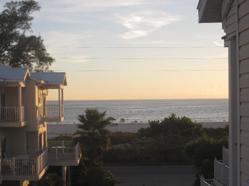 Oceanview from our balcony - OCEANVIEW HOUSE with XBOX ONE - Bradenton Beach - rentals