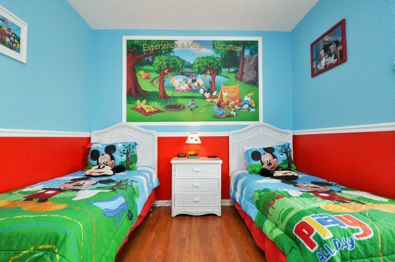 Mickey Mouse`s Pad | Wonderful 3rd Floor Condo, Located in Bldg 6 with Mickey Mouse Themed Bedroom - Image 1 - Orlando - rentals