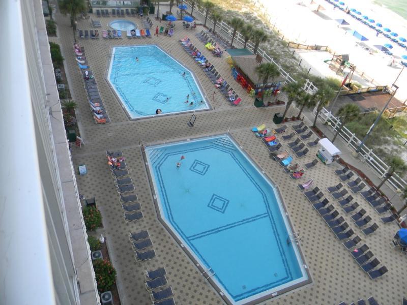Two large outdoor pools - Summit Beach Break - Panama City Beach - rentals