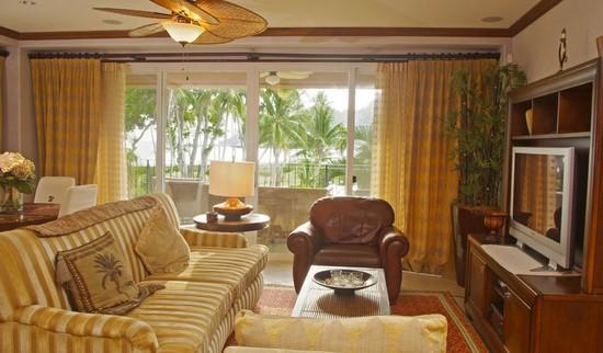 living room - Los Suenos Resort Bay Residence 7D - Herradura - rentals