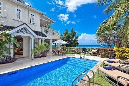 Fully Staffed Beachfront Villa at Sugar Hill, Barbados - Westhaven - Image 1 - Barbados - rentals