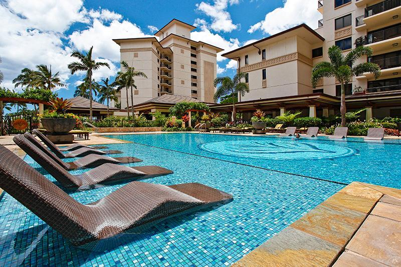 Lap Pool Area - Beach Villas OT-402 - Kapolei - rentals