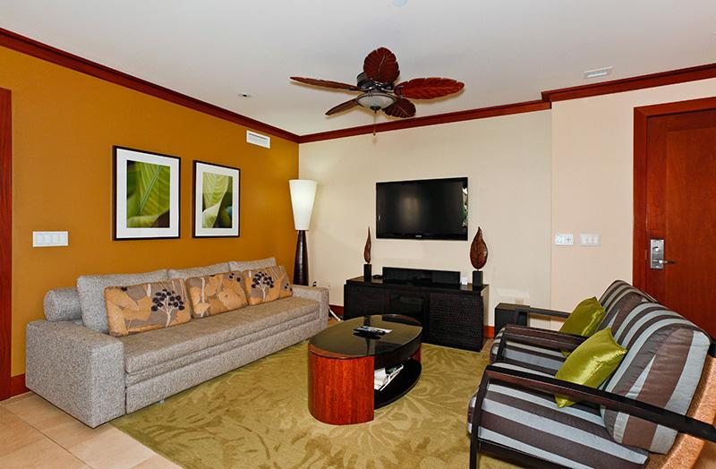 Living Area - Beach Villas OT-224 - Kapolei - rentals