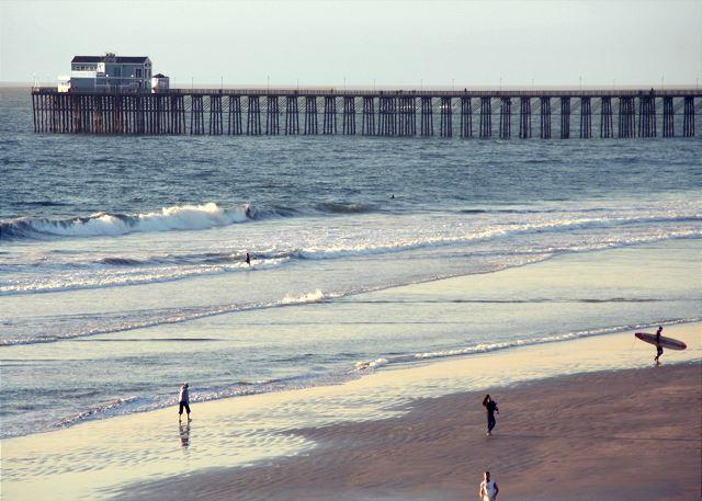 Pier just a mile away! - Oceanfront w/ 8br/7.5ba, rooftop, spa, A/C Equipped - Oceanside - rentals