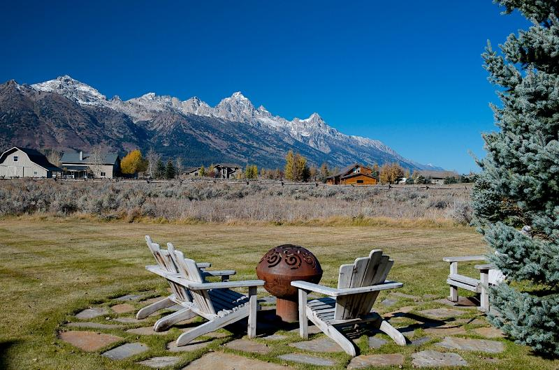 Gas Fire Pit...with a View! - Ponderosa Home - Jackson - rentals